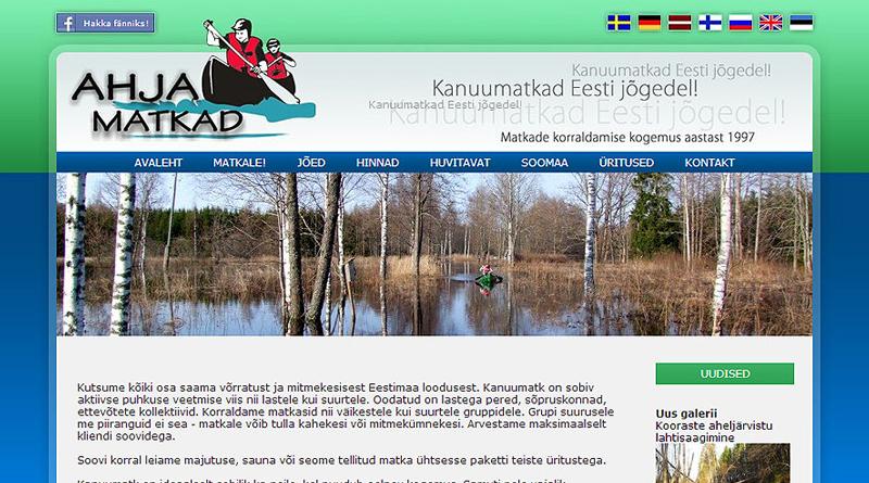www.ahjamatkad.ee kujudus